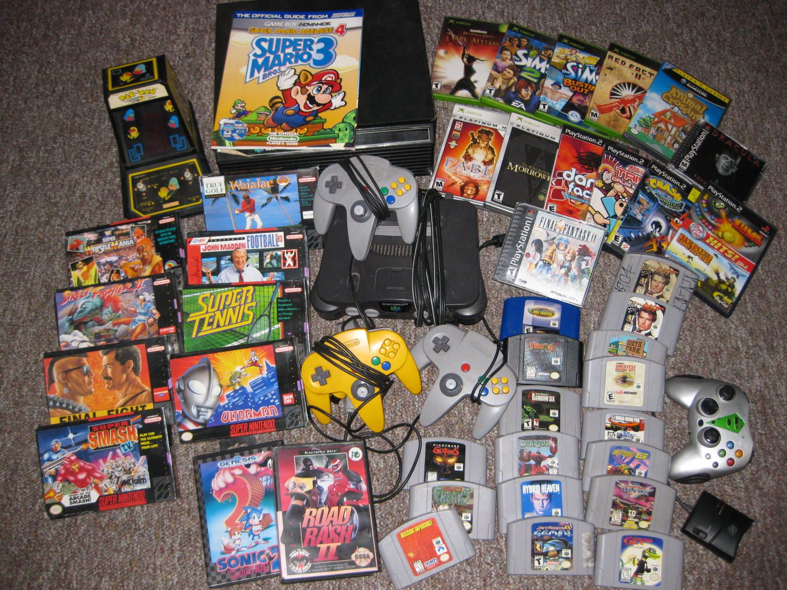 sell old video game collection
