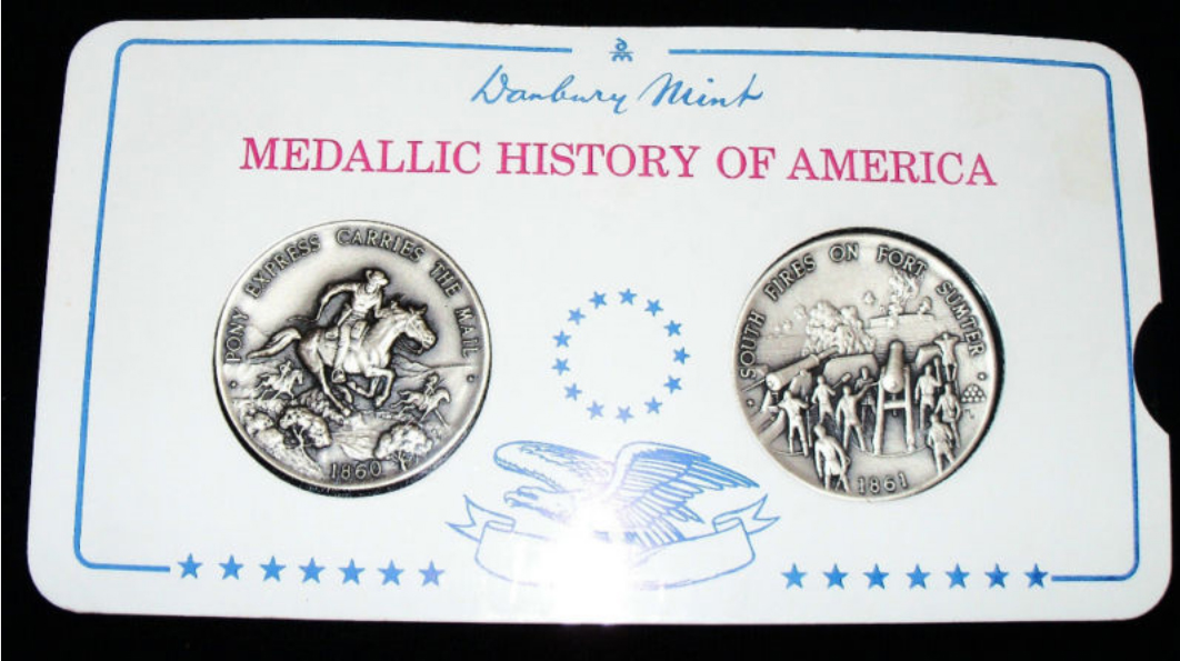 Danbury Mint History of America