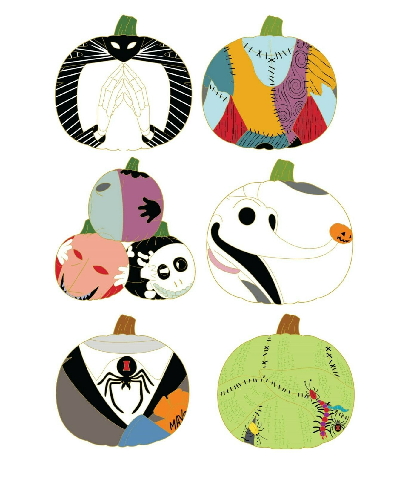 sell Nightmare Before Christmas Pins