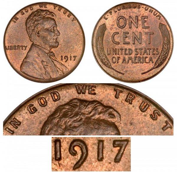 sell double die pennies