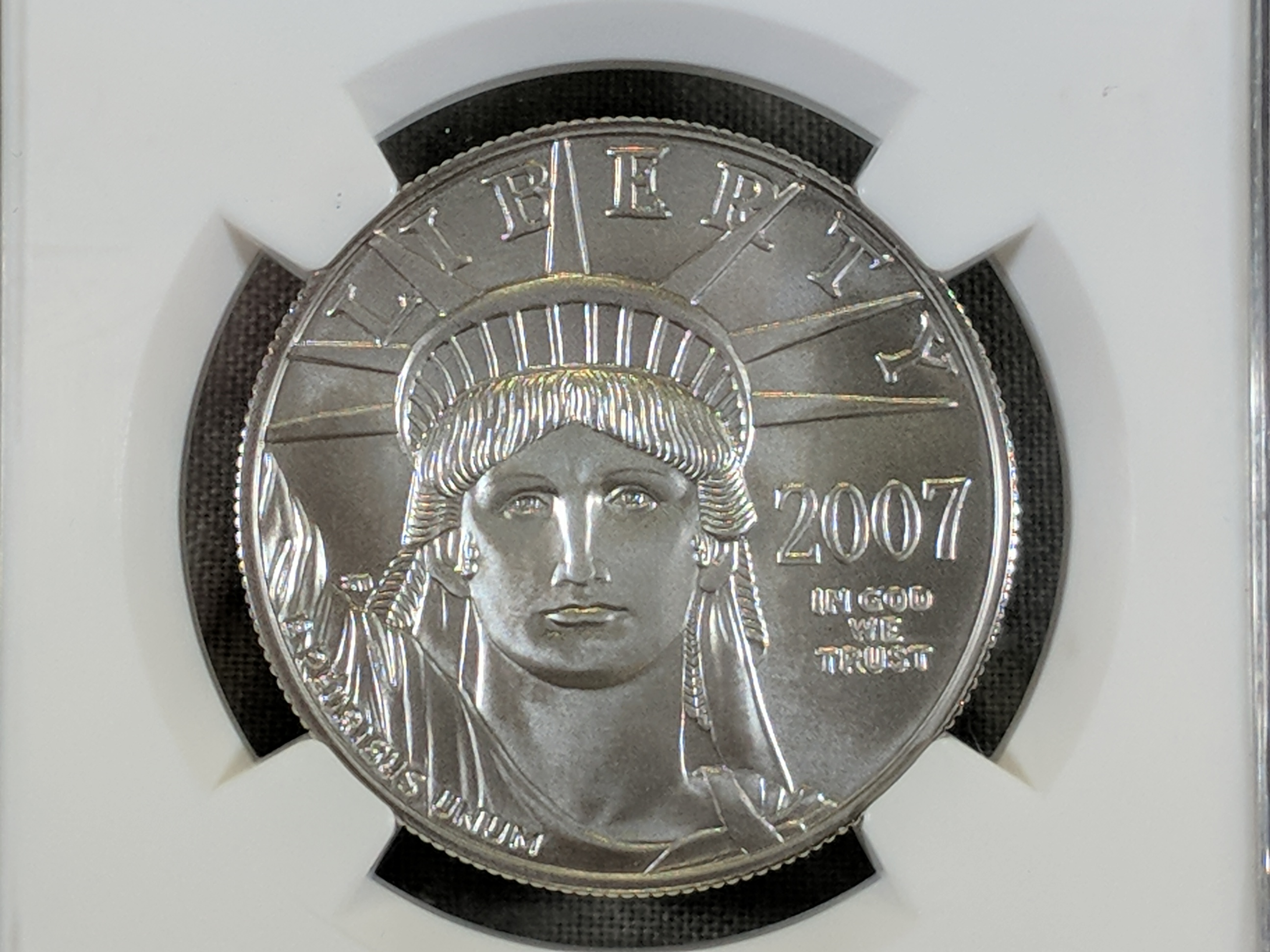 sell circulated platinum coins
