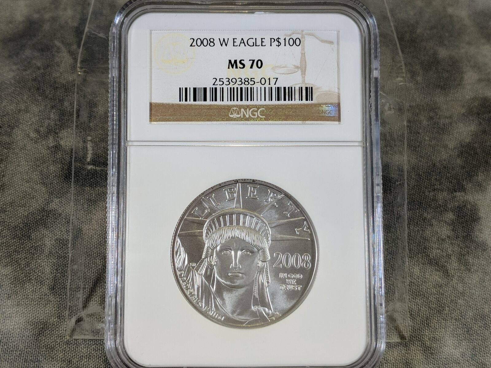 Platinum American Eagle